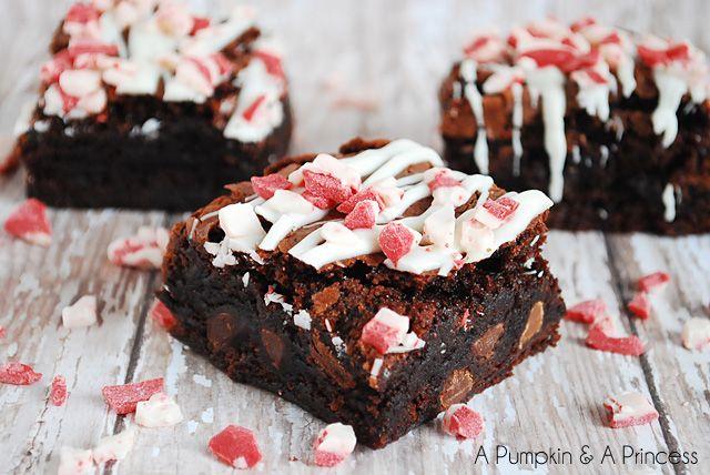 Triple Chocolate Peppermint Brownies | Recipe