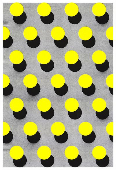 Tapeten Marokkanische Muster : Yellow Dots Pattern
