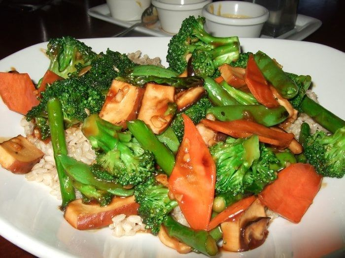 BUDDHA'S FEAST PF Chang's Restaurant Copycat Recipe Makes 2 servings 1 (12 oz.) package extra firm tofu, drained, pressed, and cubed...
