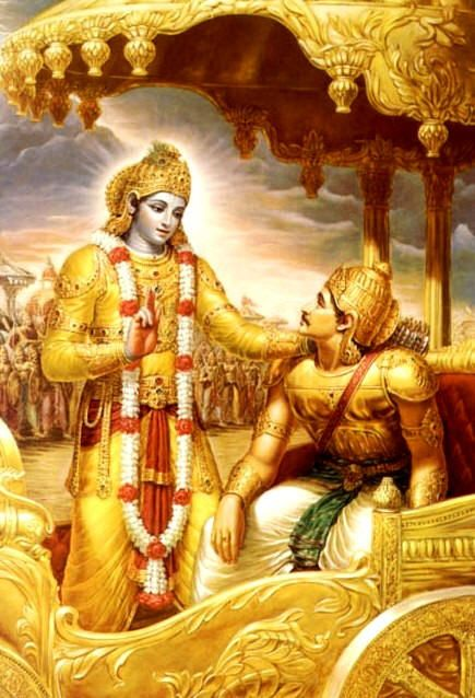 """the battle in the bhagavad gita Welcome to the second installment of our month-long series on """"purpose/dharma/destiny"""" today we're talking about the two main characters of."""