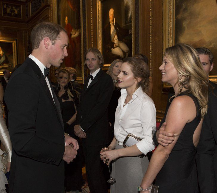 Pin for Later: 10 Reasons Emma Watson and Prince Harry Would Make the Perfect Couple Emma's already in with the royal family. Rule No. 1, you have to win over the brother. Check.