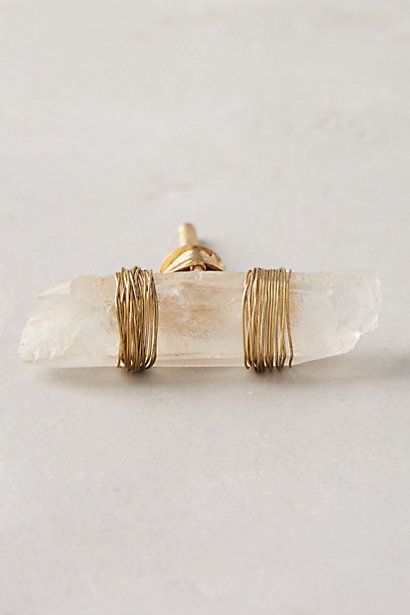 Wrapped Agate Knob #anthropologie