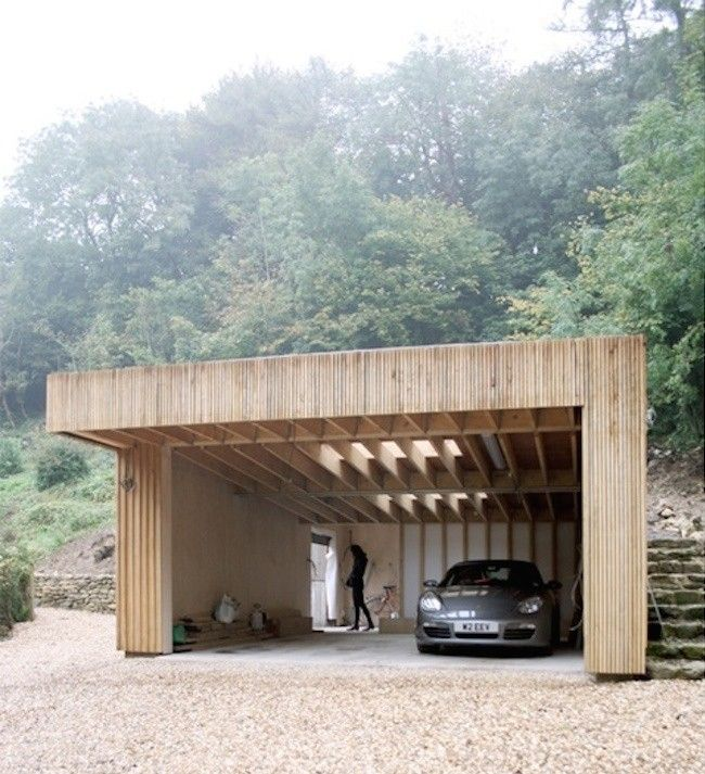 Feilden Fowles garage and workshop