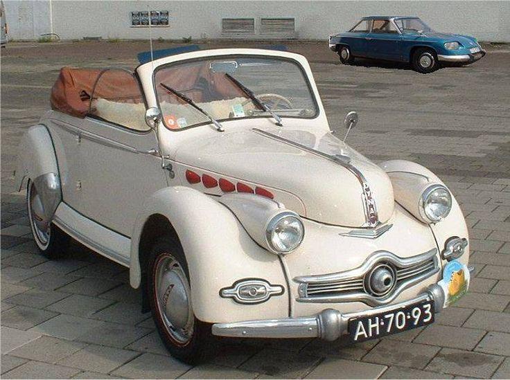 1950 Panhard Dyna X86 Cabriolet