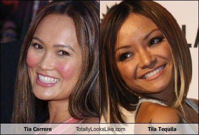 TIla Tequila totally looks like Tia Carrere