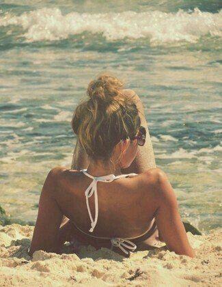 Y sin mas...la playa