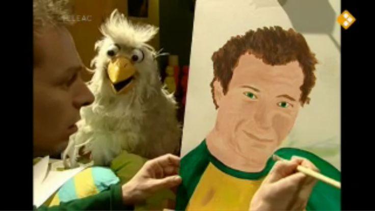 Thema: Kunst. Een zelfportret kun je in verschillende stijlen en technieken schilderen. Kinderen gaan kijken bij een kunstschilder en bezoeken het Van Gogh Museum. Erik is intussen bezig om een zelfportret te schilderen.