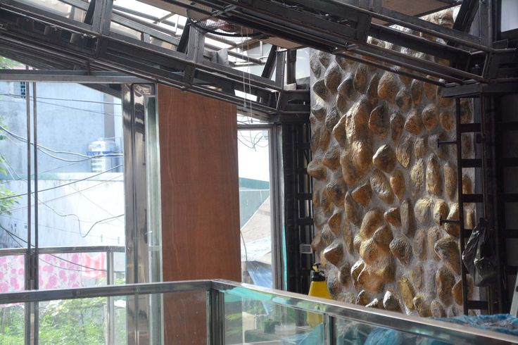 Styropor steinwand raumdesign - Steinwand styropor ...