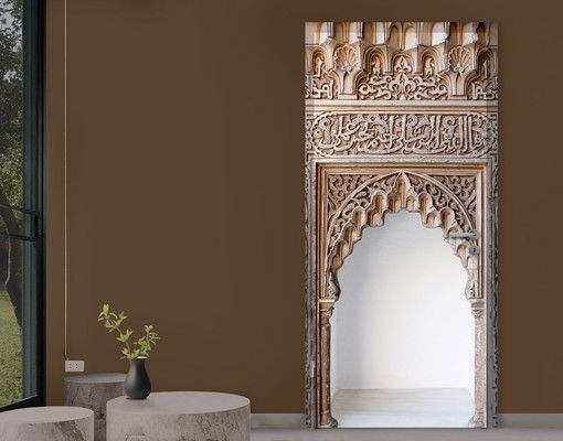 #TürTapete Alhambra #Türtapeten #selbstklebend #Türtapete #Türposter #Türbild #Türfolie # neueTürenÖffen
