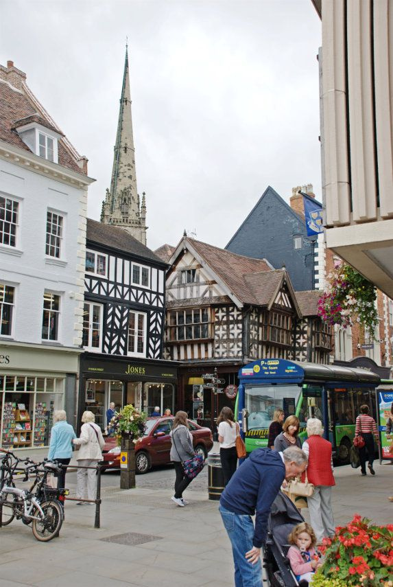 The town of Shrewsbury, Shropshire, England...♥♥...