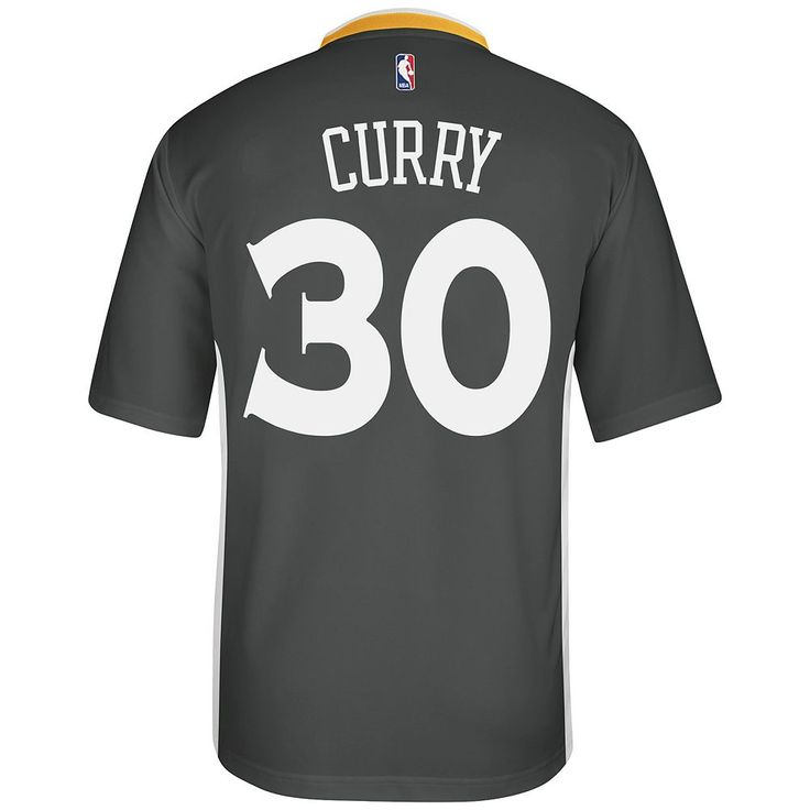 Adidas Men's Golden State Warriors Stephen Curry Replica Jersey, Size: Large, Black