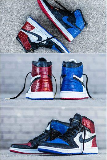 The Shoe Surgeon Young Big Boy Air Jordan 1 Top 3 Custom  3cbf91d832