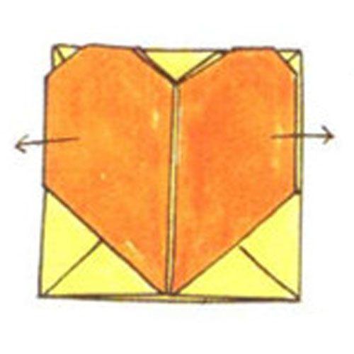Делаем сердечко коробочка
