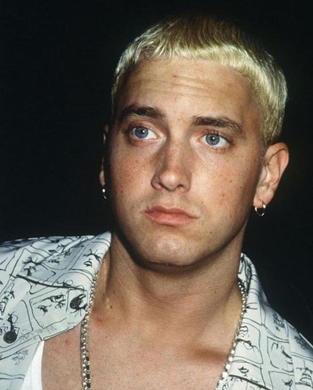 Eminem Natural Hair Color : eminem, natural, color, Trump', Camiseta, Premium, Hombre, Spreadshirt, Shady,, Eminem,, Raperos