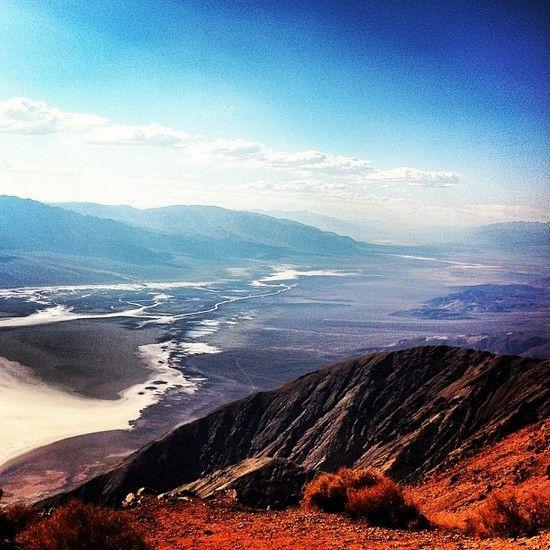 Dante's view - Death Valley / Vallée de la mort