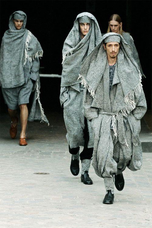 "xcottmisty: "" "" Damir Doma Spring 2011 "" I really need to explore making textiles—this is gorgeous. """
