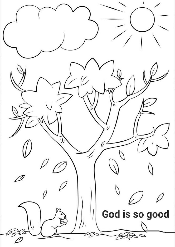 Trust Fall Coloring Pages
