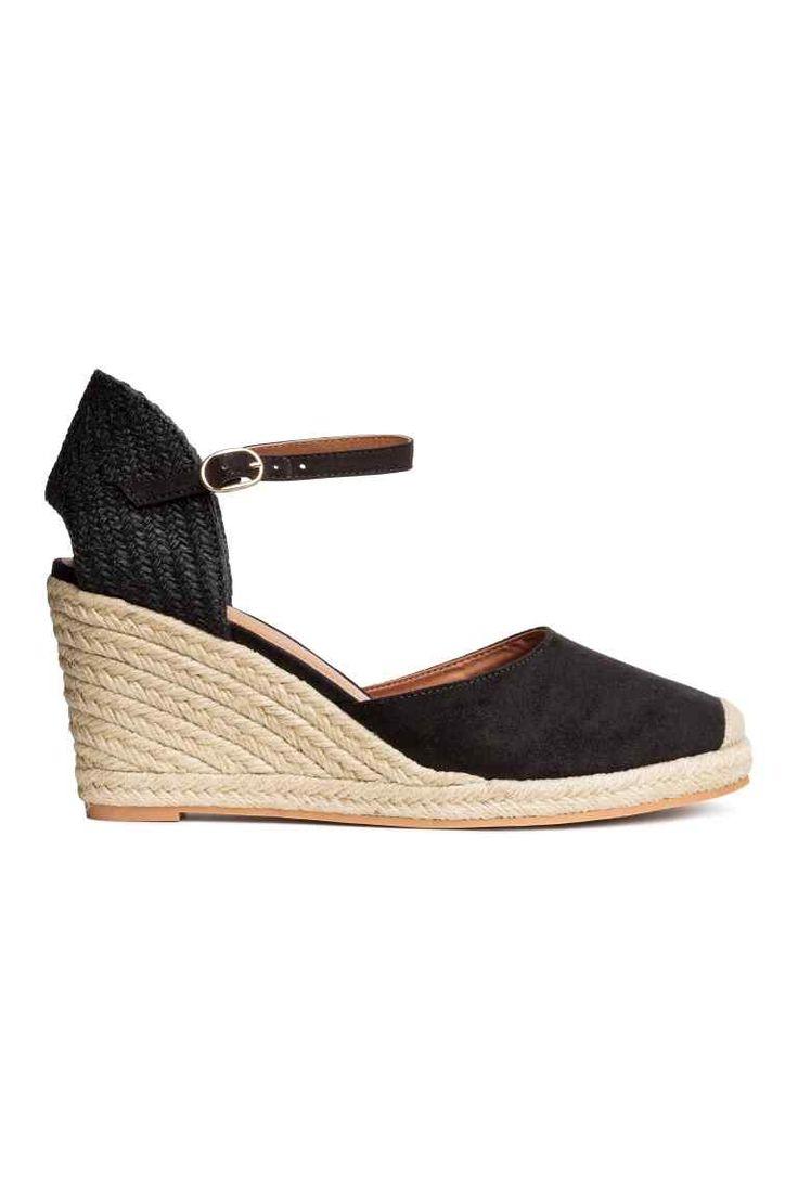 Pantofi cu talpă ortopedică - Negru - FEMEI   H&M RO 1
