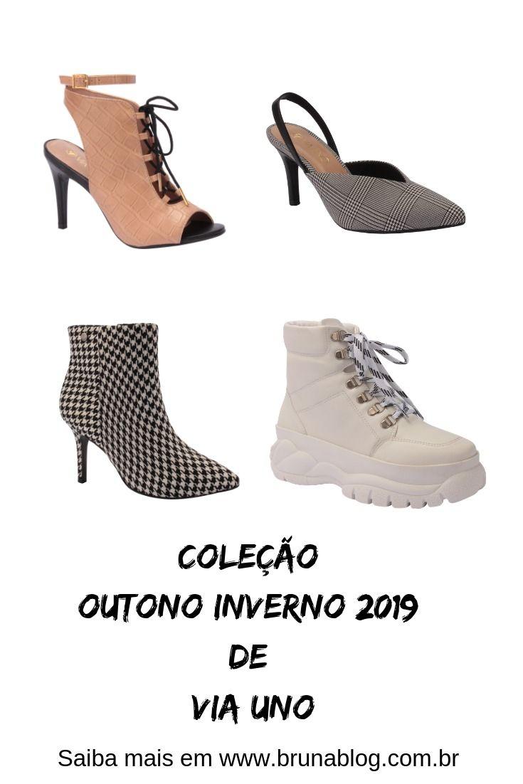 bdedccc96 VIA UNO Aposta em Coleção Democrática no Outono/Inverno 2019 |  Sapatos/Shoes | Sapatos de inverno, Sapatos outono inverno, Outono inverno