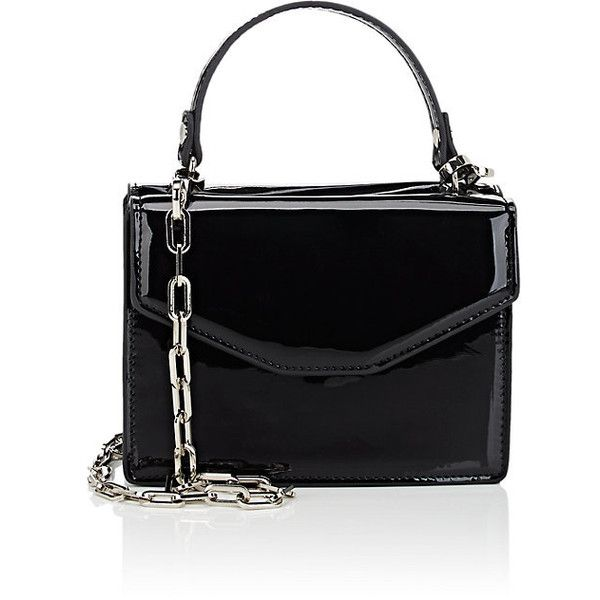 Deux Lux Women's Mini Satchel (€56) ❤ liked on Polyvore featuring bags, handbags, black, imitation handbags, chain handle handbag, deux lux handbags, faux-leather handbags and strap purse