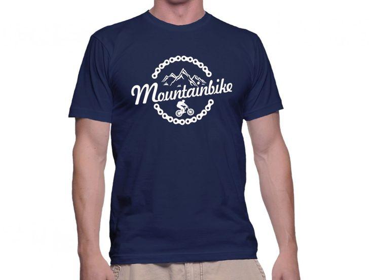 Tricou Capital T Mountainbike Navy Blue