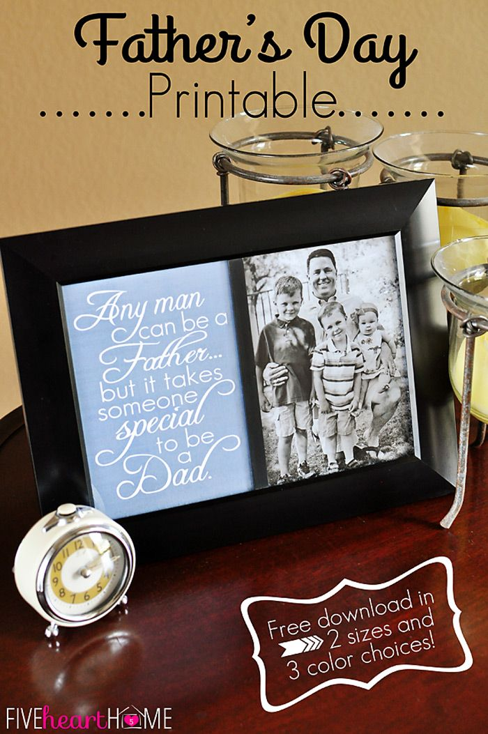 Father's Day Free Printable!