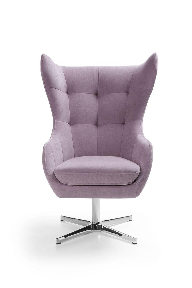 """Smukły, zgrabny i nowoczesny - fotel Neo z uroczymi """"uszami"""" to szyk i elegancja, która zachwyca. #GalaCollezione #fotel #dosalonu #meble #design #inspiracje #inspiration #interiordesign"""