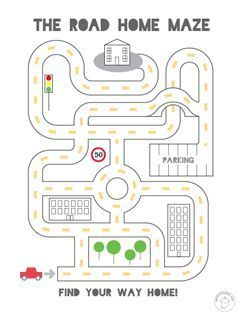 Easy Level Mazes - Pinned by @PediaStaff – Please Visit  ht.ly/63sNt for all our pediatric therapy pins