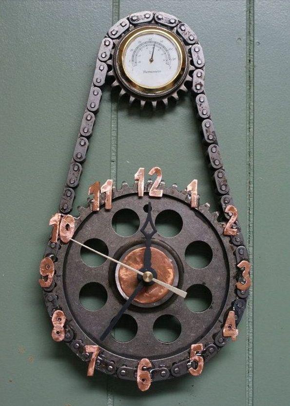 Horloge Moto 1