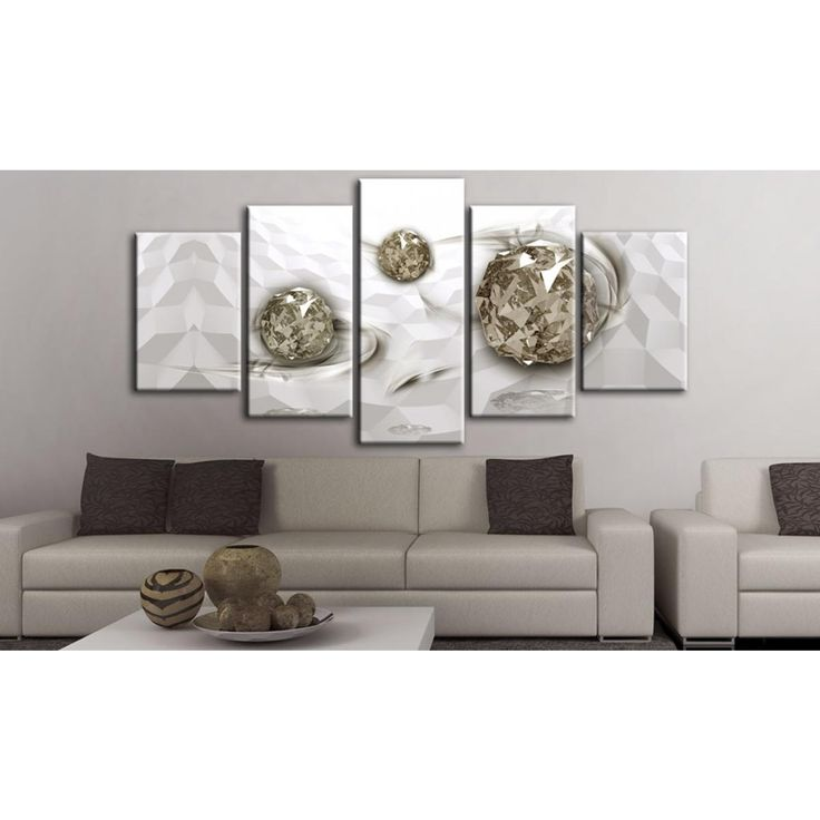 Vous ne voulez pas encombrer votre salon par une décoration trop ostentatoire ? Misez sur un tableau qui décorera seulement un de vos murs. Qu'est-ce que vous pensez de l'effet en 3D ? #tableau #tableaux #effet3D #glamour #artgeist