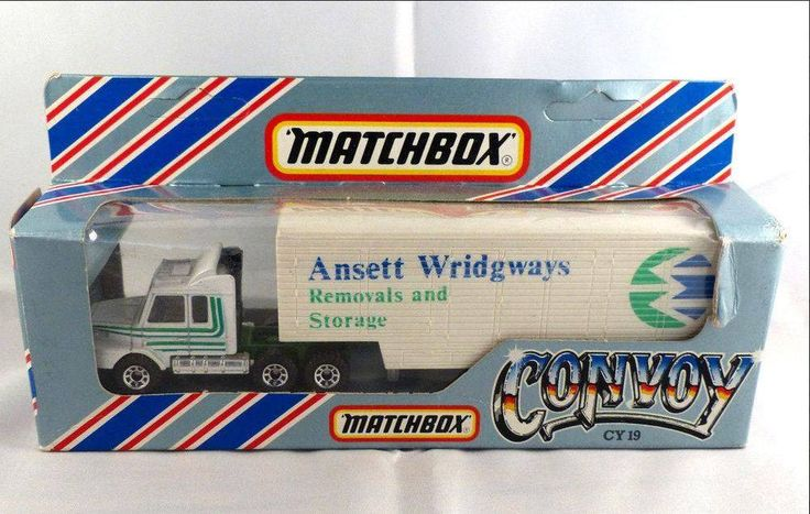 Talk about steeped in History! Check out this 1983 Matchbox ANSETT WRIDGWAYS Moving truck!