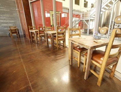 28 Best Images About Stained Concrete On Pinterest