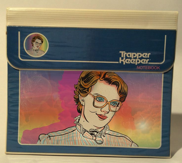 Barb Trapper Keeper / Stranger Things
