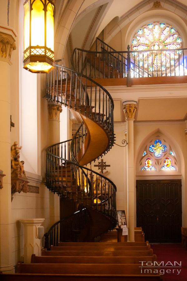 """the mystery of the spiral staircase The man solved the dilemma by creating a spiral staircase that made  and  specials – even an """"unsolved mystery"""" segment (none of which i've."""