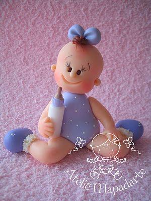 Porcelana Fria - Cold Porcelain - Bebé - Bautizo - Baby Shower