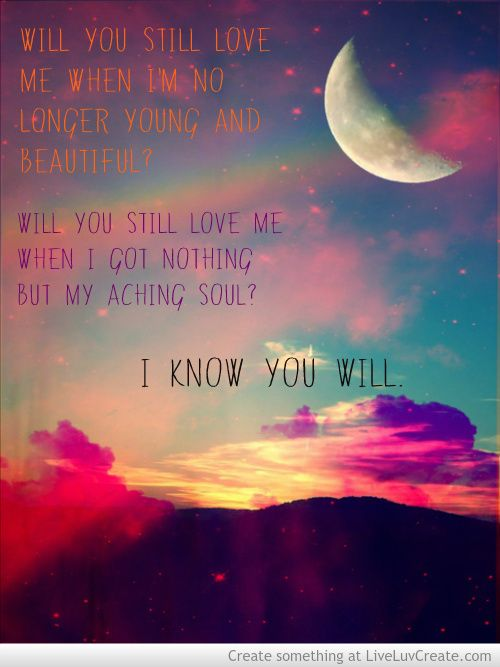 The Great Gatsby - Lana Del Rey- Young and Beautiful  <3  Will you still love me- when I'm no longer young and beautiful?