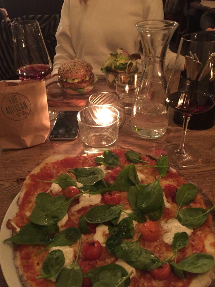 The Artisan . Quinoa PowerBurger . Glutenfree Pizza . Vino . Zurich .