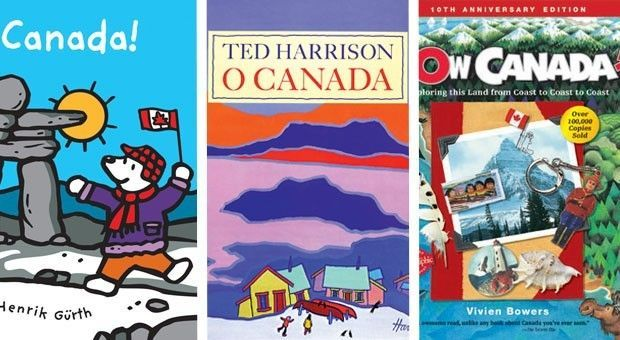 10 books about Canada for kids