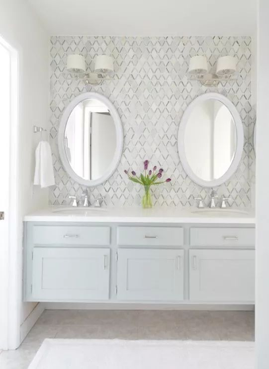 14 bathrooms with double vanities bathroom bathroom master rh pinterest com