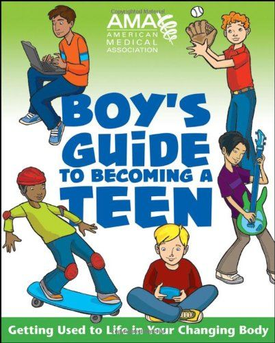 Bestseller Books Online American Medical Association Boy's Guide to Becoming a Teen American Medical Association, Kate Gruenwald Pfeifer $10.17  - http://www.ebooknetworking.net/books_detail-0787983438.html
