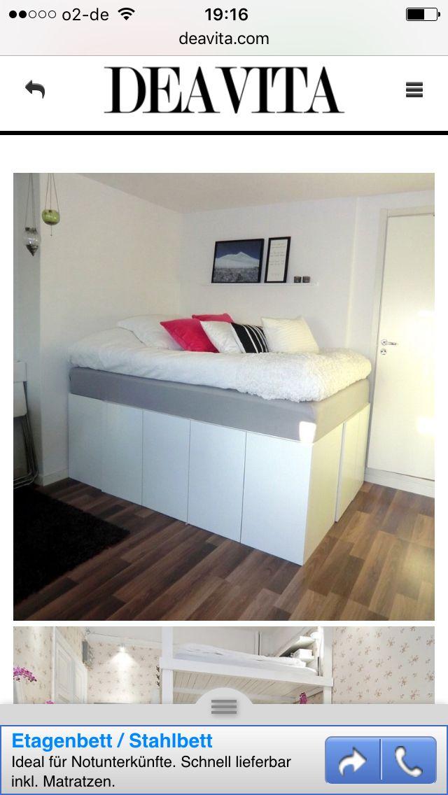 74 best Betten images on Pinterest Beds, Home ideas and Wood beds - moderne betten ideen
