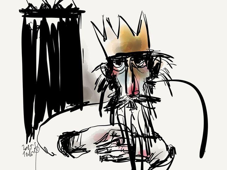 © Piroska Klesitz / - Öreg király  / - Old King