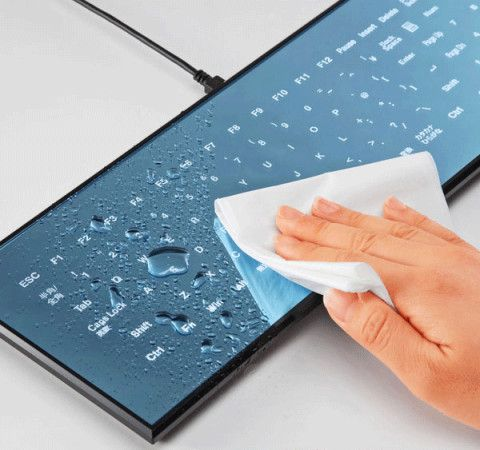 Touchscreen keyboard that is Classy, Waterproof & Customizable!