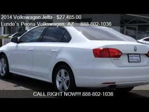 Phoenix Volkswagen | 2014 Volkswagen Jetta TDI for sale in Peoria, AZ | ...  Lunde's Peoria Volkswagen Phoenix, AZ www.peoriavw.com #vw #volkswagen