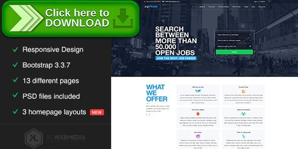 [ThemeForest]Free nulled download Jobfinder - Job Portal HTML5 Template from http://zippyfile.download/f.php?id=16953 Tags: agency, artist, business, corporate, ecommerce, forums, freelancer, job board, job finder, job portal, landing, personal, portal, search jobs