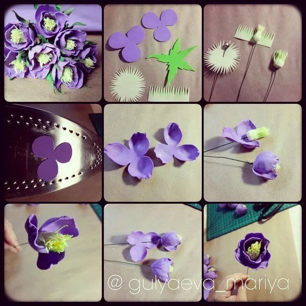 маленькие цветы из фоамирана: 18 тыс изображений найдено в Яндекс.Картинках