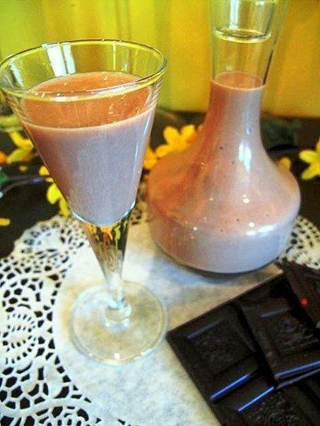 Яично-шоколадный ликер