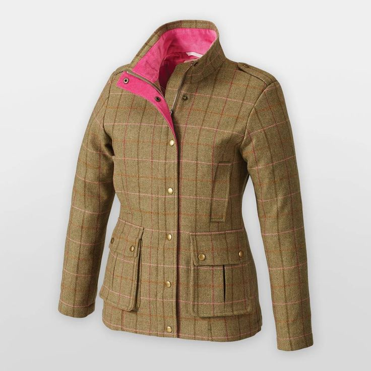 Tottie Elizabeth Country Tweed Jacket - Ladies | SS15 Collection ...