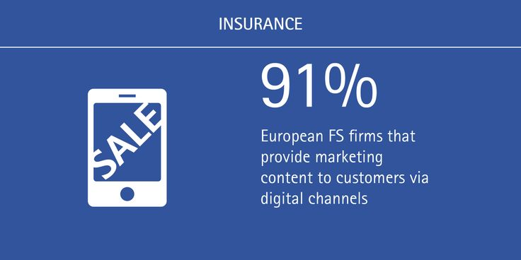 25 best our insurance bloggers images on pinterest business almost all european banks and insurers interact with customers via digital channels fandeluxe Image collections