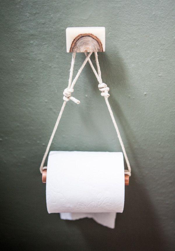 Design Love Fest DIY Toilet Paper Holder | Toilet paper